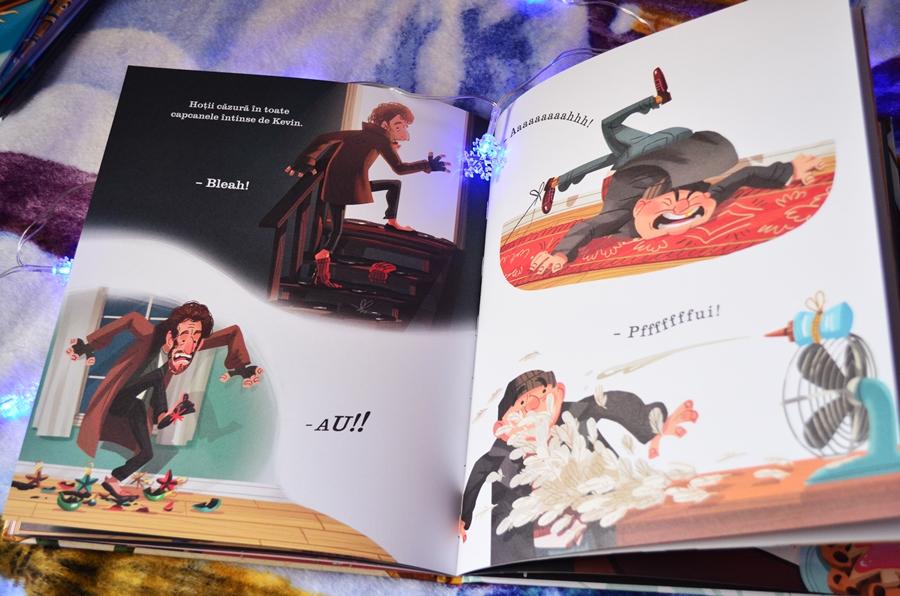 carte singur acasa povestea ilustrata a filmului home alone kim smith editura litera