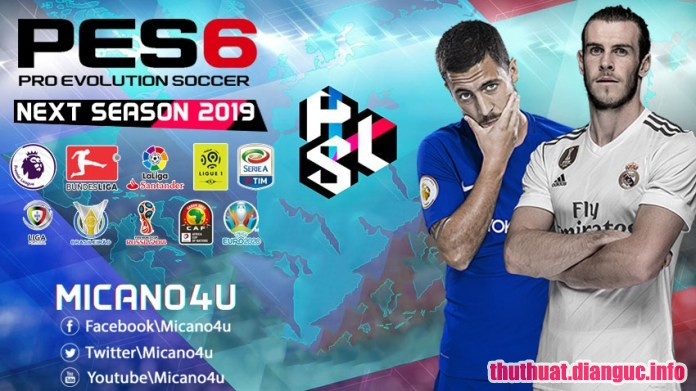 Download PES 6 Next Season Patch 2019 v2.0 – Patch PES 6 mới nhất 2018