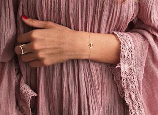 bracelet tendance ancre