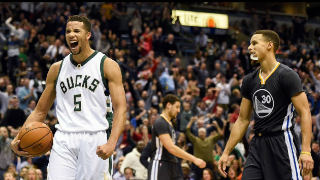 Michael Carter-Williams et les Bucks s'imposent contre les Warriors