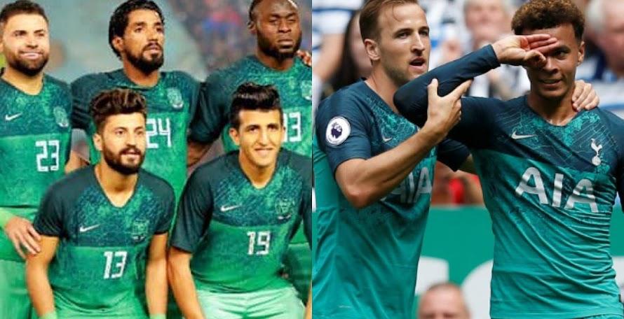 5b2973eb5 Iraqi Top Club Steals Nike Tottenham 18-19 Third Kit Design
