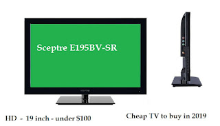 Sceptre E195BV-SR - cheap TV 2019