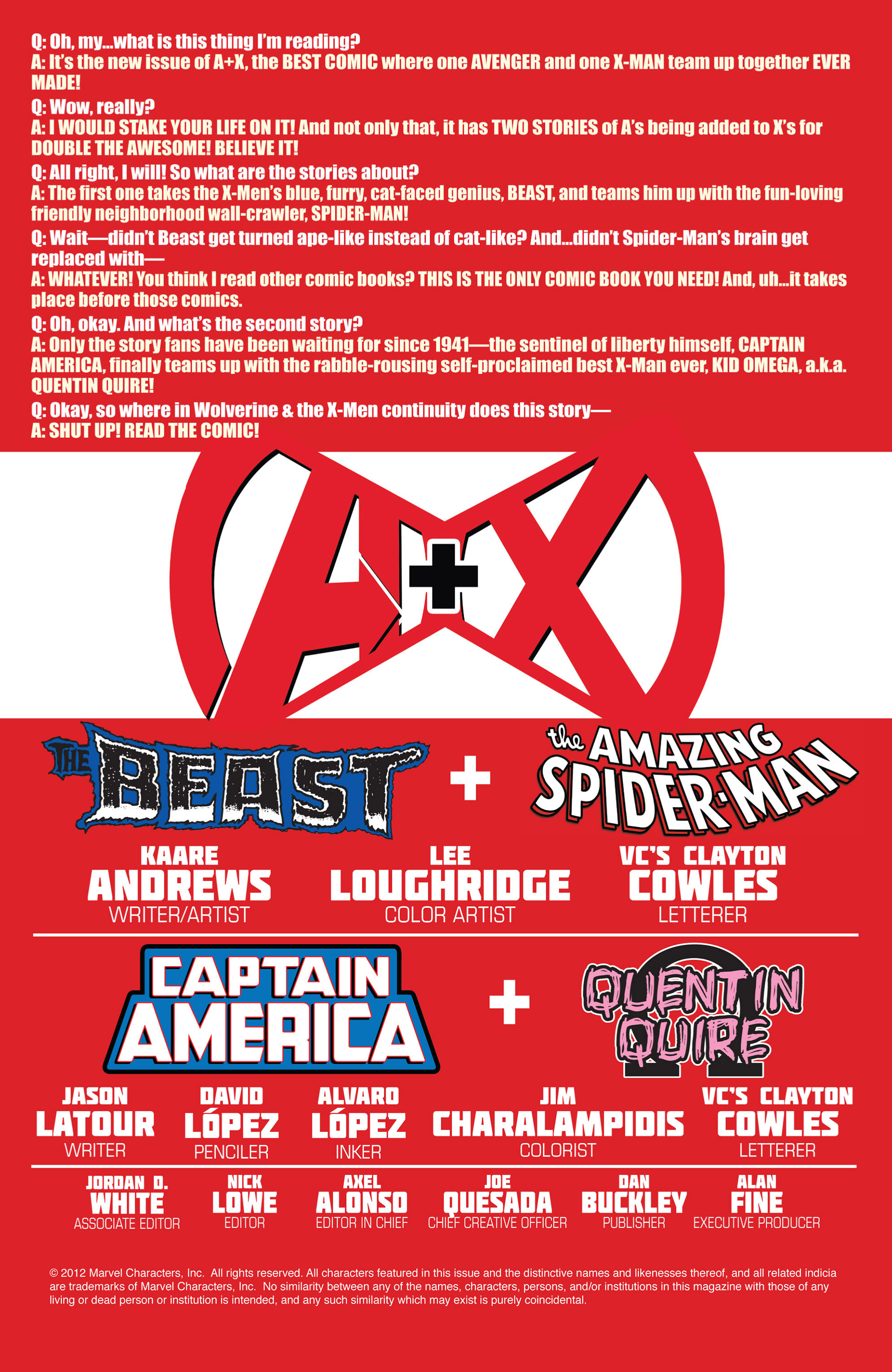 Read online A X comic -  Issue #4 - 2