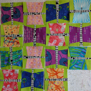 Simple butterfly quilt blocks