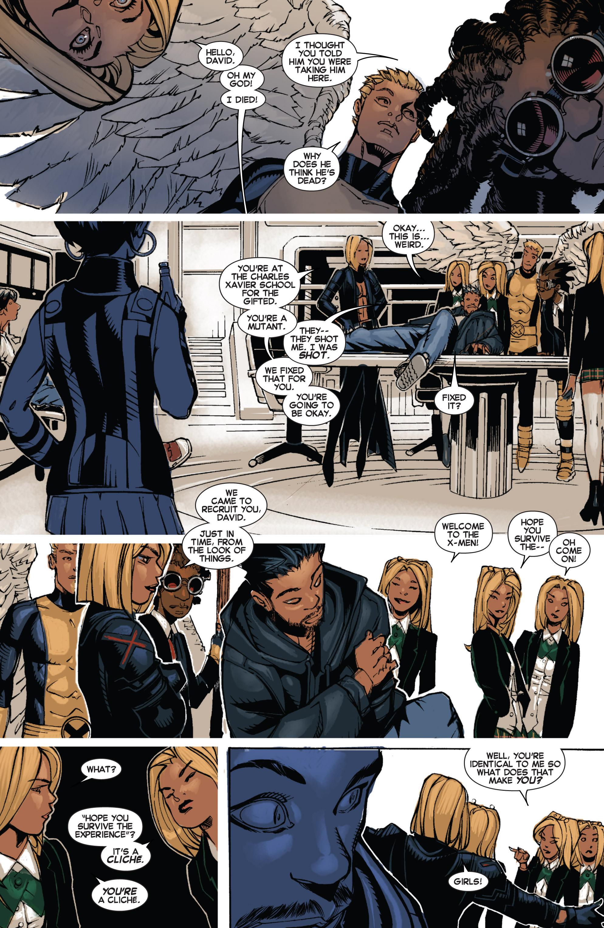 Read online Uncanny X-Men (2013) comic -  Issue # _TPB 2 - Broken - 55