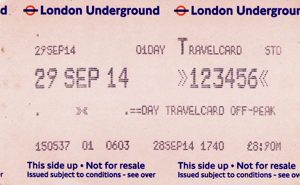 Day Travel Card London All Zones Price