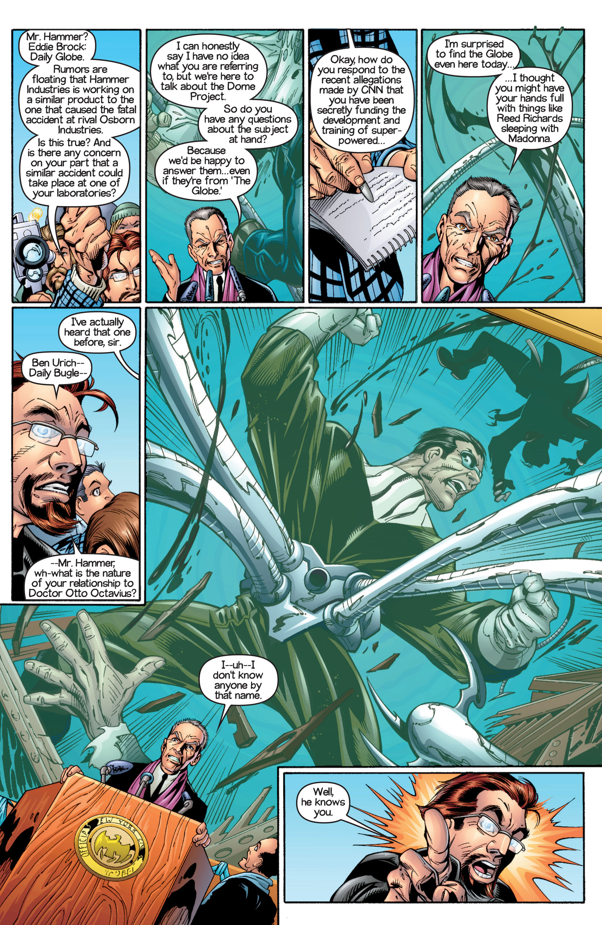 Read online Ultimate Spider-Man (2000) comic -  Issue #17 - 16