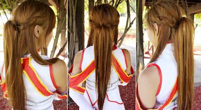 Gaya rambut Asuna SAO