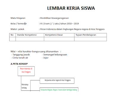Download LKS Kelas 6 Semester 1 dan 2 Kurikulum 2013