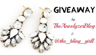 WIN A STATEMENT EARRING - THEANVOLYZER BLOG GIVEAWAY [CLOSED]