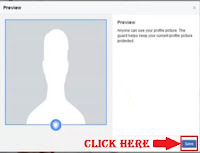 Protect facebook profile picture