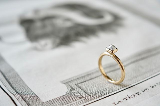 ダイヤモンド原石・婚約指輪・エンゲージリング