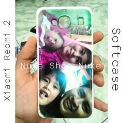 Soft case Handphone Xiomi Redmi 2 foto atau gambar sendiri custom