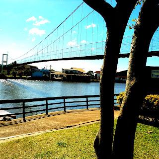 Ponte Pênsil, em Torres