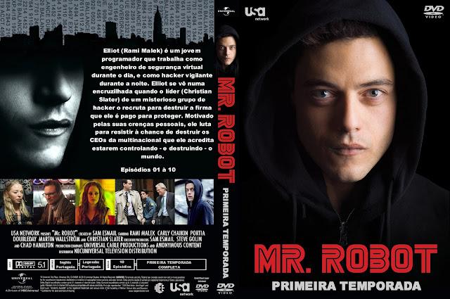 Capa DVD Mr Robot Primeira Temporada Completa