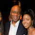 Awwwh ! Lovely photos of Bukola Saraki and his Beautiful Twin Daughters.