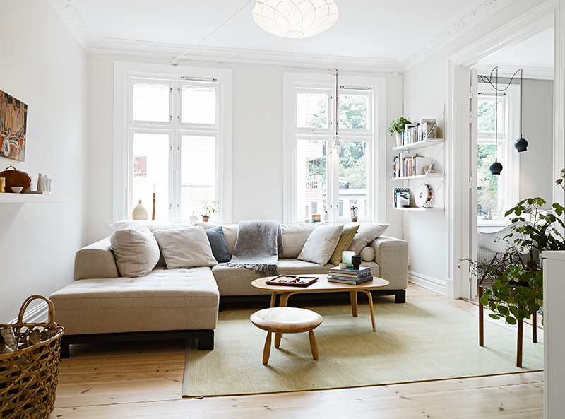 My Scandinavian Home White And Grey Gothenburg Home Tour