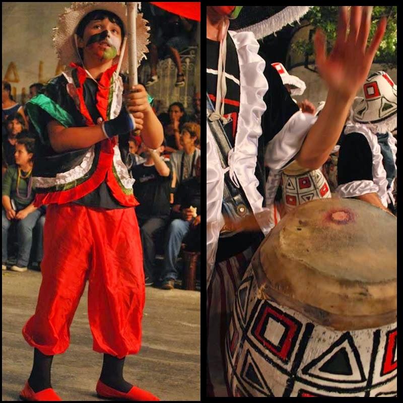 Carnaval. Desfile de Llamadas,Curumbé. 2010.
