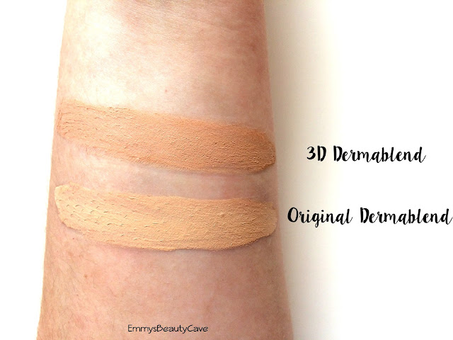 Vichy Dermablend Foundation Opal Swatch
