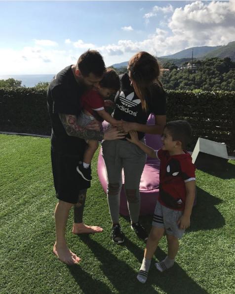 Lionel Messi Umumkan Nama Anak Ketiga