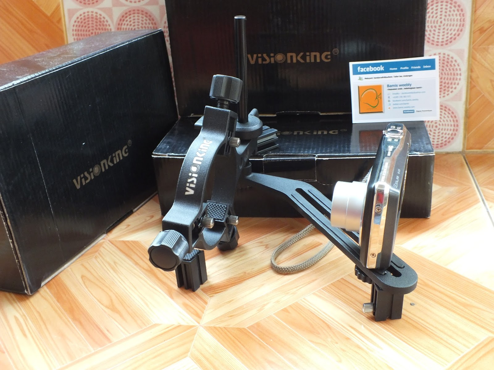 Toko senapan angin: dudukan kamera untuk telescope senapan visionking