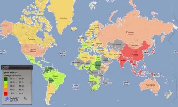 Senarai Saiz Zakar Mengikut Negara, Malaysia Tangga Ke-106