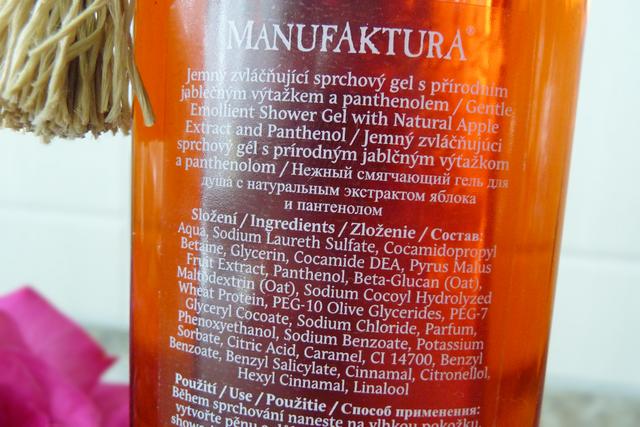 Manufaktura - Zvláčňující sprchový gel Jablko