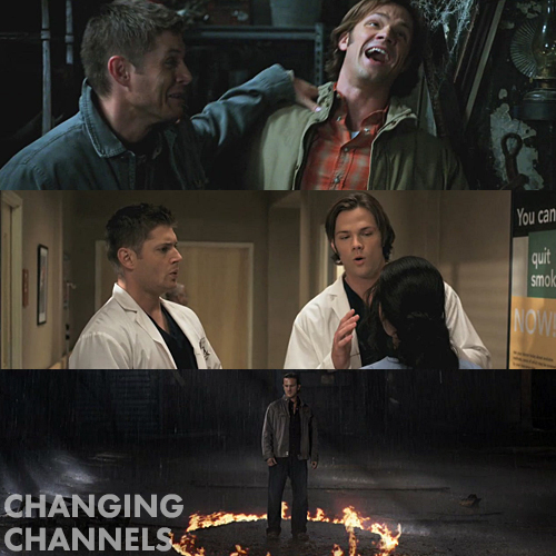 Supernatural 5x08 - Changing Channels