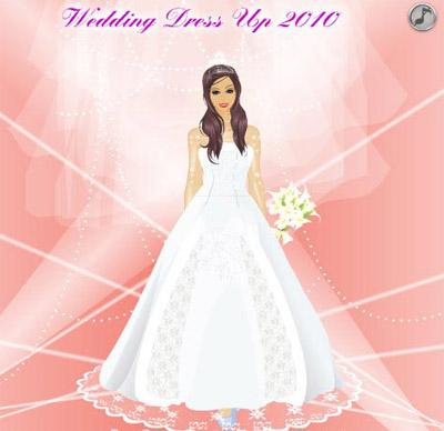 039d5c3c9deee تحميل لعبة تلبيس العرائس Wedding Dress Up 2010 مجانا للكمبيوتر