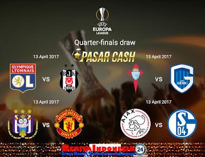 Hasil Drawing 8 Besar Europa League