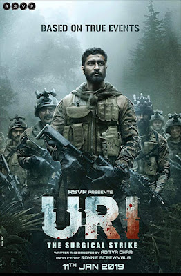 Uri: The Surgical Strike (2019) Hindi 720p Pre-DVDRip x264 – 1GB