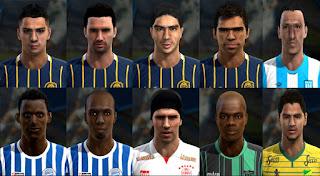 Facepack Liga Argentina v7 Pes 2013