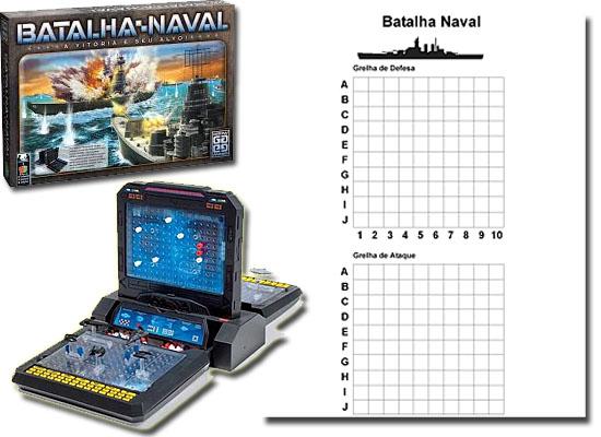 11 Jogos tabuleiro - Batalha Naval