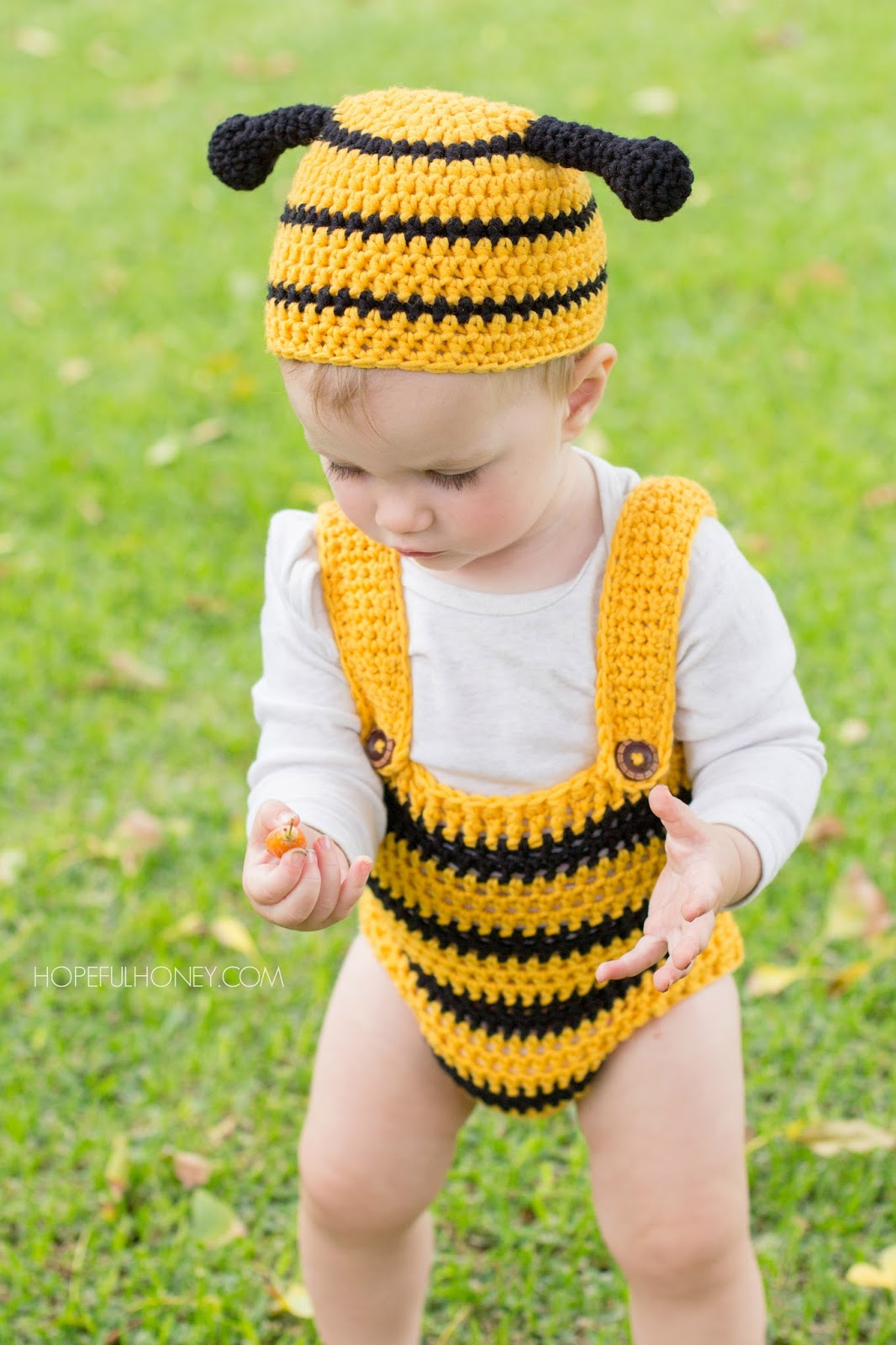 Crochet Patterns Baby Bee Yarn : Hopeful Honey Craft, Crochet, Create: Bumble Bee Baby ...