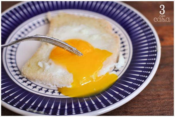 receita lanche com ovo