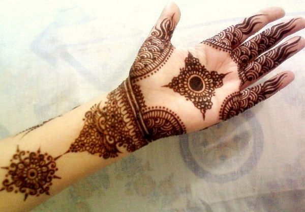Simple Pakistani Mehndi Designs