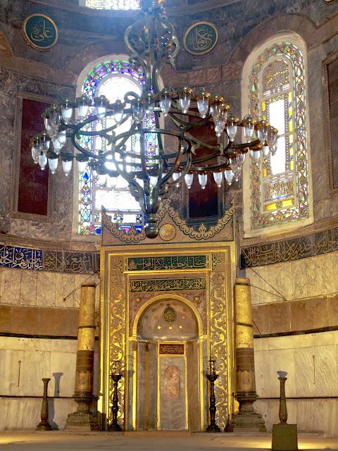 Santa Sofía, mihrab