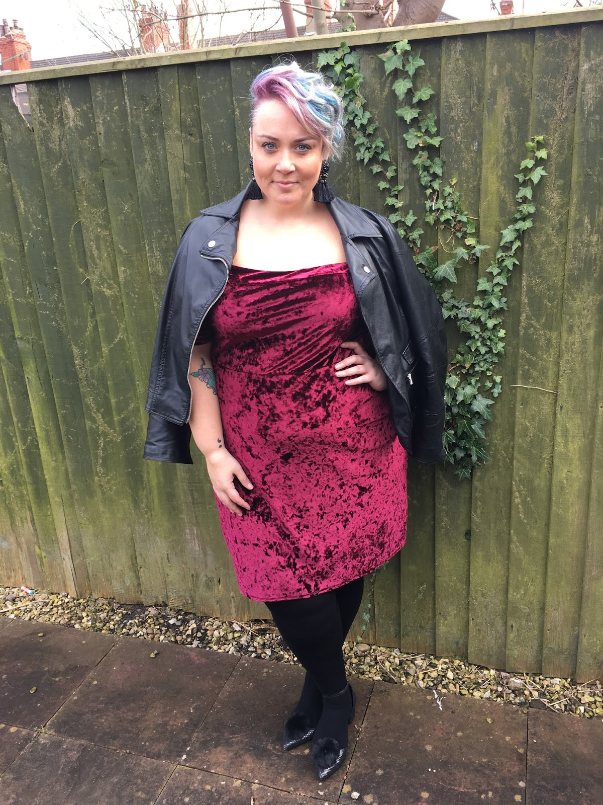 ea4056bf058b0 Style: Velvet Perfection with Pink Clove - Becky Barnes Blog | Plus ...