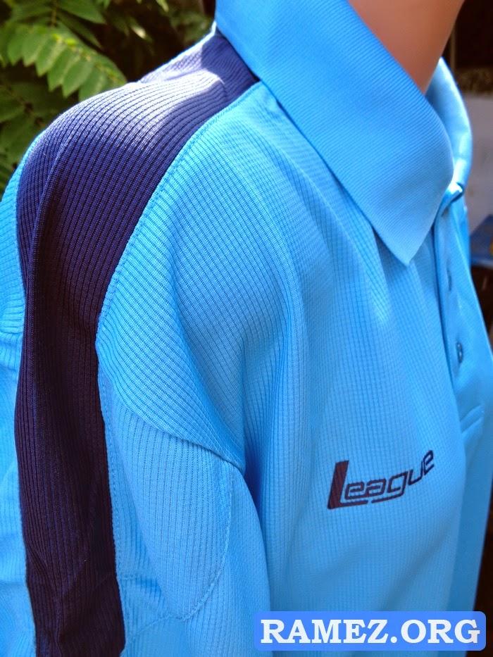 Pakaian Olahraga Pria League Fraga Polo Men Blue Ocean