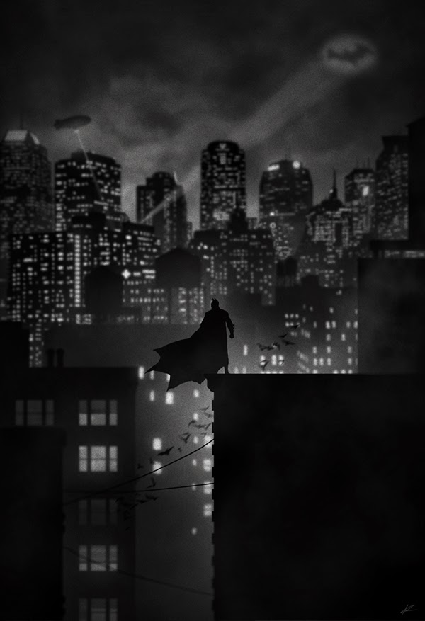 Marko Manev. Noir Series. Superheroes