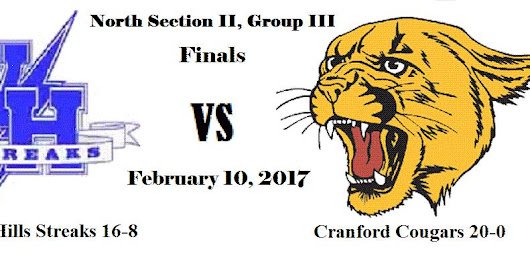 Cranford Cougars: High School Wrestling Sectional Finals Tonight