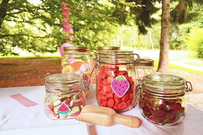 l'angolo delle caramelle alla frutta