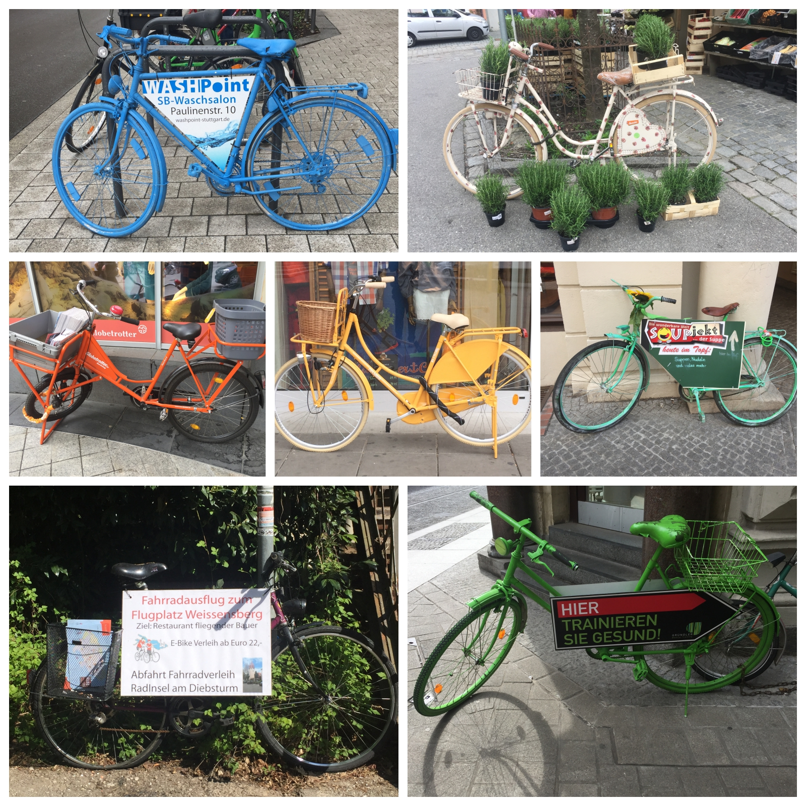 Auto Als Werbefläche | Radfahren In Stuttgart Werbefahrrader