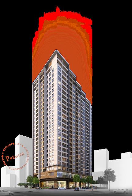 Phối cảnh dự án Premier Berriver Long Biên