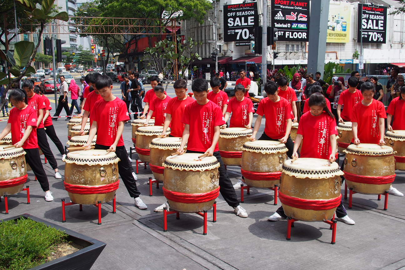 KL SOGO Chinese New Year Lion Dance Performance pictures