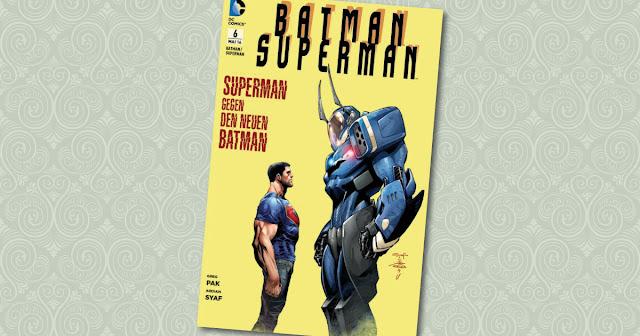 Batman Superman Panini Cover