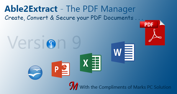 Able2Extract PDF Creator