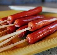 сосиски на палочках барбекю