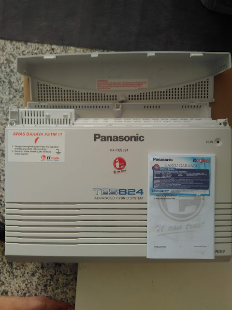 melayani pengadaan mesin pabx panasonic bergaransi resmi itcomm 1 tahun dan jaminan layanan terbaik