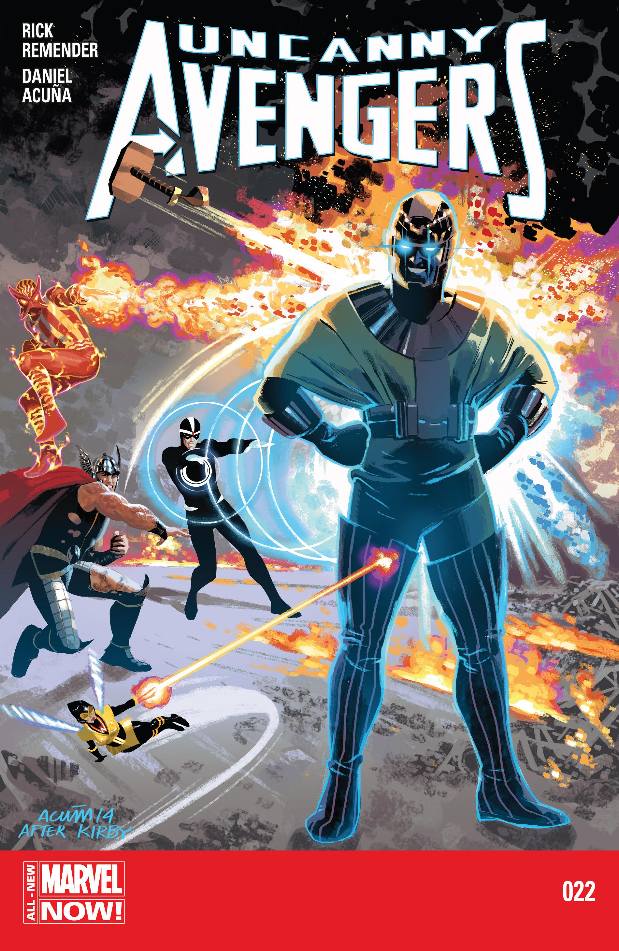 Read online Uncanny Avengers (2012) comic -  Issue #22 - 1